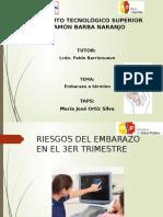 Rotafolio Actividad 4 Tercer Trimestre Del Embarazo