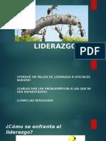 LIDERAZGO  PPT