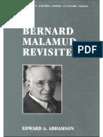 Edward a. Abramson-Bernard Malamud Revisited (Twayne's United States Authors Series) (1993)