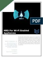 Final MRD_wifi Enabled Appliances