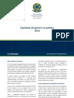 DataSenado Pesquisa Equidade Genero Politica 2016 v11