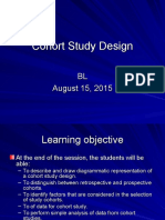 Cohort Study Design