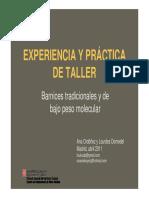 l Domedel y a Ordonez Experiencia y Practica de Taller