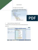 Manual para crear proveedores en SAP R3 - Retail