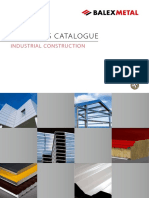 Bm Products Catalogue Industrial Construction en Paneles Sanduche