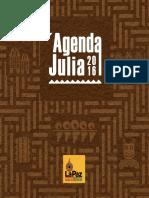 Agenda Fiestas Julias 2016