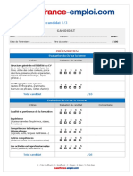 Grille Evaluation Candidat