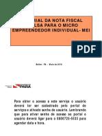 Tutorial Nota Fiscal Avulsa Micro Empreendedor Individual MEI