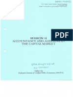 20031009 Session 11 Accounting and Auditing the Capital Market
