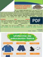 Recomendación Protocolo de Vestimenta
