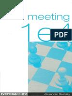 CHESS Alexander Raetsky - Meeting e4 (Everyman 2004).pdf