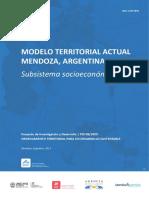 MODELO TERRITORIAL ACTUAL MENDOZA, ARGENTINA. PID 1