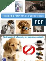 Aula 5 Toxicologia Dos Alimentos Em Pequenos Animais