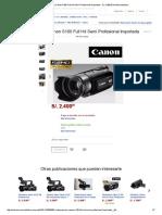 Videocamara Canon S100 Full Hd Semi Profesional Importada - S_. 2