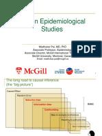 Bias in Epidemic Study