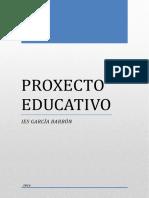 PROXECTO EDUCATIVO 2016