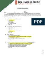 Test de Evaluare a Cunostintelor IT