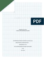 análisis de reticulados planos