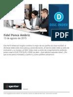 DISC-Fidel Ponce Ambriz