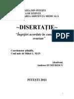 Cancerul ovarian - disertatie.doc