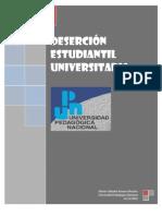 Deserción Estudiantil Universitaria