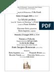 Aequa 20 - Il 22 e 23 Maggio Concerti Di Primavera a Villa Fondi