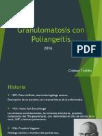 Granulomatosis Con Poliangeítis (Cris)