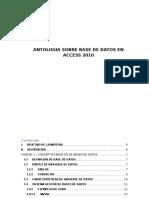 Bases de Datos en Access 2010