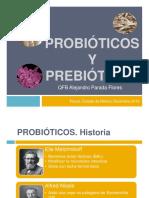 Probióticos y Prebióticos