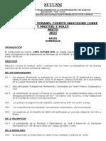 Bases Generales Campeonato de Fulbito y Voley Mixto 2015-Sutusm
