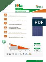 Renesola 300-310w US Data Sheet