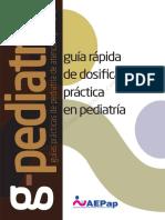 Guia Rapida Dosificacion en Pediatría 2016