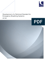 CAP 1034 Development of a Technical Standard for Emergency Breathing Systems