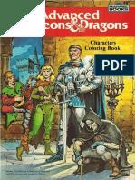 Dnd Coloring Book 1983