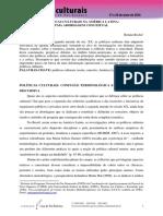 POLÍTICAS CULTURAIS NA AMÉRICA LATINA