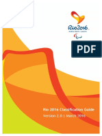 Rio 2016 Paralympic Classification Guide Marzo 2016