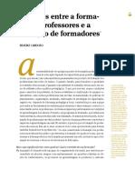 Beatriz Cardoso - Conexões Entre a Formaçãode Professores e a Formação de Formadores