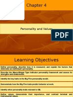 Ch4 Personality and Values