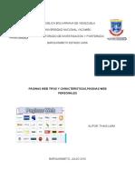 Pag Web Tipos Caracteristicas Web Personales (1)