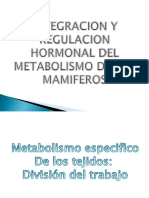 Regulacion Hormonal Del Metabolismo