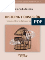 Histeria y obsesión. Introducción a la clínica de las neurosis [Luciano Lutereau]