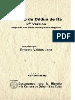 Tratado de Odun de Ifá. 2da Versión. Ampliada Con Ishe Osain y Eshu-Eleguara