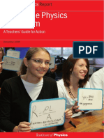 Girls in the Physics Classroom a Teacher's Guide for Action