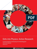 Girls Into Physics Action Research