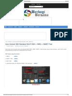 Cara Connect SSH Memakai MULTI SSH + MMD + INJECT Tsel  BERfggf