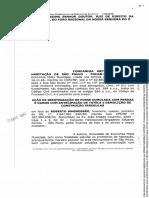 Ação de Reint Posse cc perda e danos antec tut e demolição constr irregular.PDF