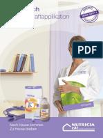 Nutricia Handbuch Flasche Schwerkraft