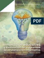 Innovacion Educativa y Evaluacion de Programas de Alfabetizacion Informativa