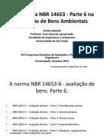 Desafios Da NBR 14653 - Parte 6 Na Avaliao de Bens Ambientais -Emilio Haddad