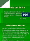 AnaÌ-lisis Del Estilo Musical